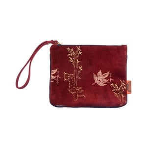 Kožená taštička Pocket Red
