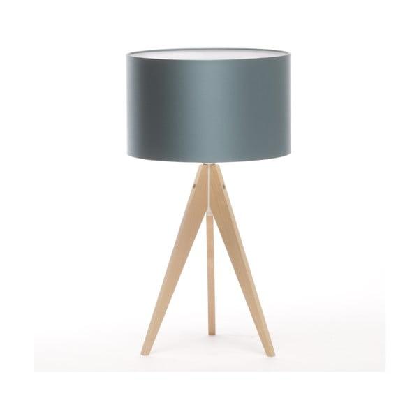 Stolná lampa Artist Ice Blue/Natural Birch, 65 cm