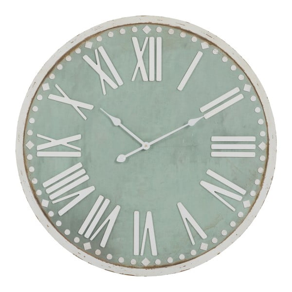Nástenné hodiny Rom Num Green, 80x80 cm