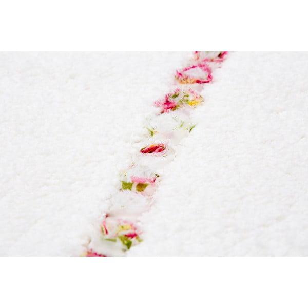 Kúpeľňová predložka Frenésie Cream, 65x80 cm