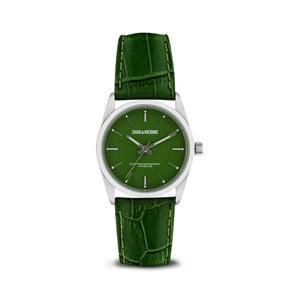 Dámske zelené hodinky s koženým remienkom Zadig & Voltaire