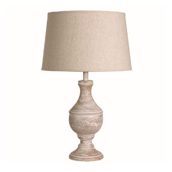 Stolná lampa Washed Cream