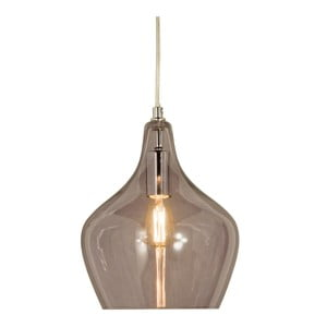 Sivé závesné svietidlo Scan Lamps Melina