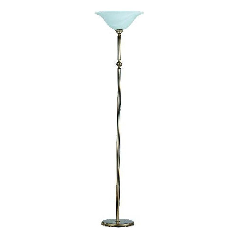 Voľne stojacia lampa Glimte Patina, výška 179 cm