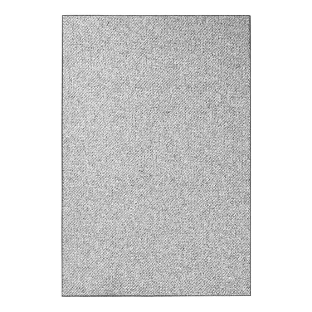 Sivý koberec BT Carpet Wolly v sivej farbe, 160 × 240 cm