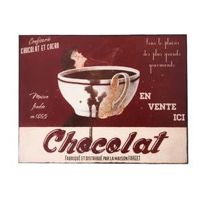 Nástenná ceduľa Chocolat