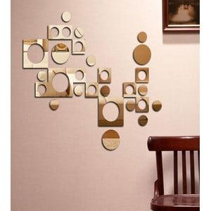 Dekoratívne zrkadlo Retro geometrie