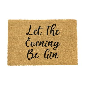 Rohožka Artsy Doormats Let The Evening Be Gin, 40 × 60 cm