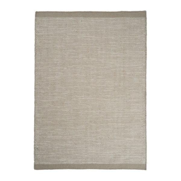 Vlnený koberec Linie Design Asko Beige, 70 x 140 cm