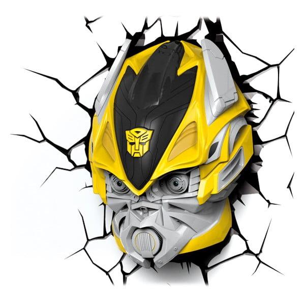 Nástenné svetlo s nálepkou Tnet Transformers Bumble Bee