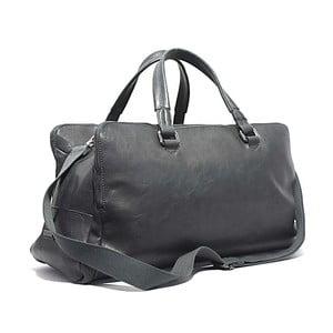 Cestovní taška Bobby Black - Grey, 50x30 cm