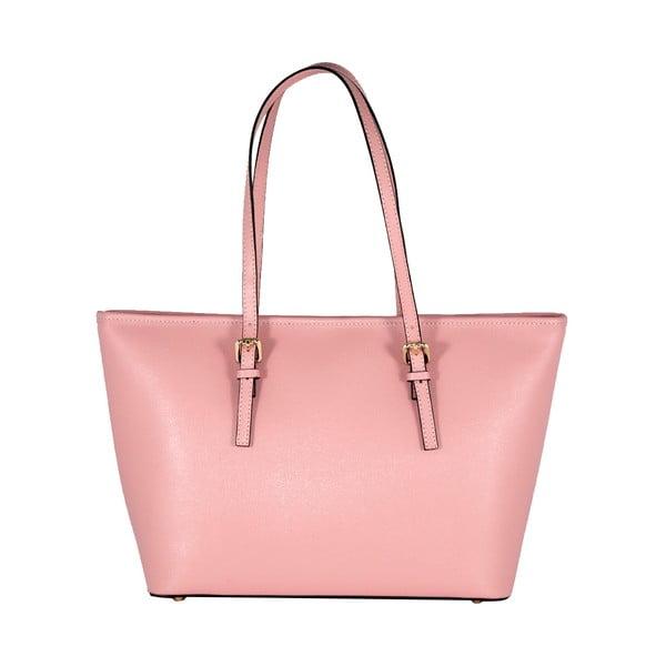 Kožená kabelka Andrea Cardone 2006 Pink