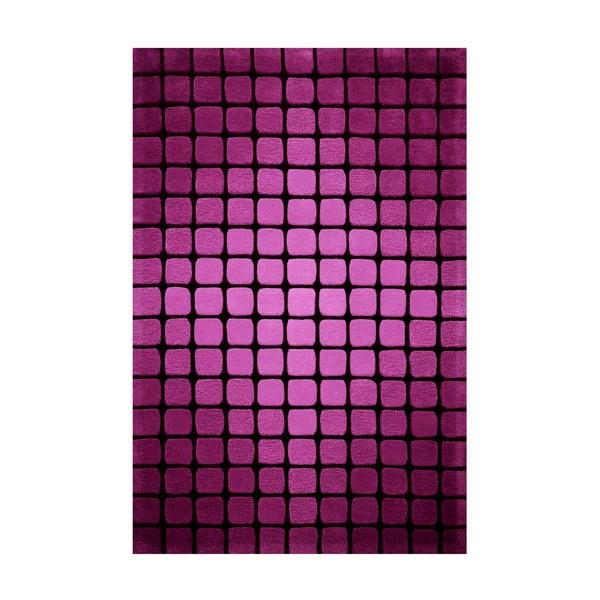 Koberec Bakero Casablanca Square 140x200 cm, růžový