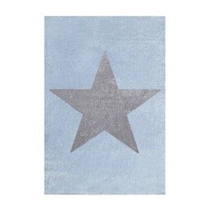 Modro-sivý detský koberec Happy Rugs Superstar, 120x180cm