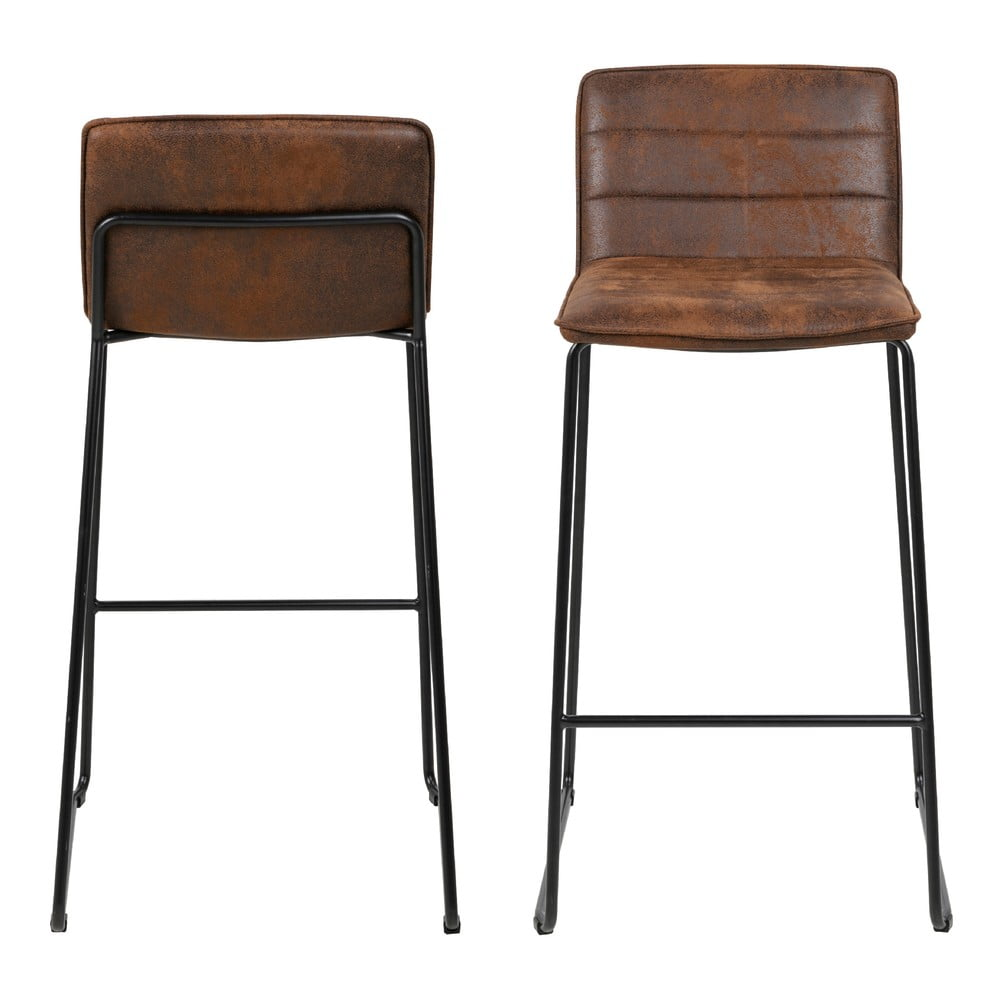 Hnedá barová stolička Actona Holland, výška 96 cm