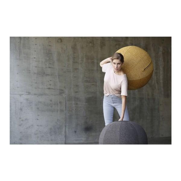 Tmavohnedá lopta na sedenie VLUV, 75cm