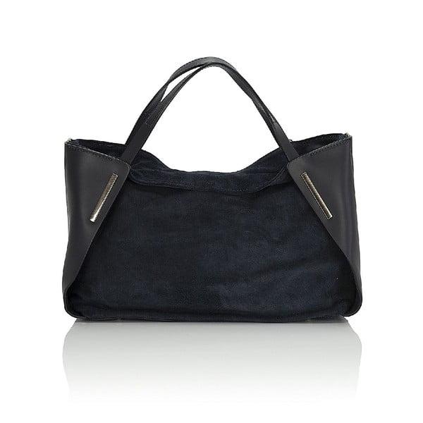 Kožená kabelka Giorgio Costa 15012 Blue