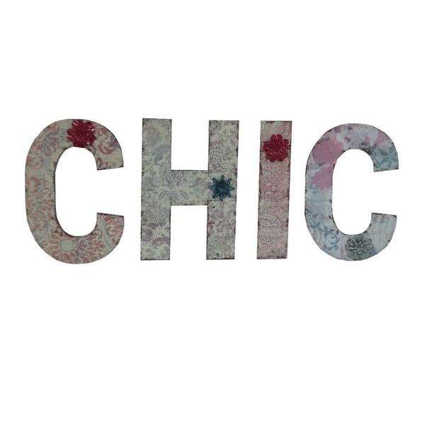 Závesné písmená CHIC