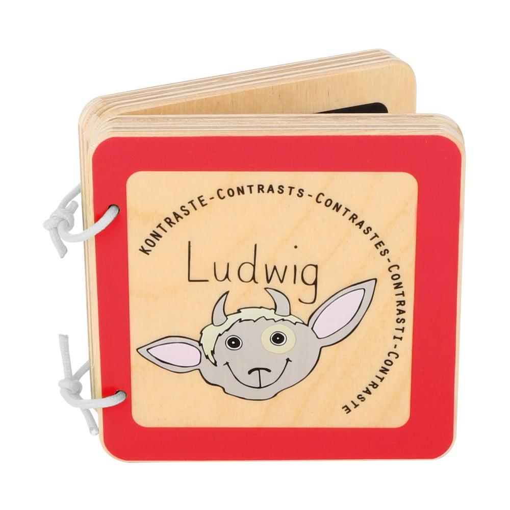 Detská drevená knižka Legler Ludwig the Billy Goat