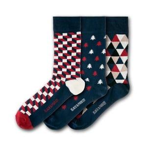 Sada 3 ponožiek Black&Parker London Cotehe, veľkosť 37 – 43