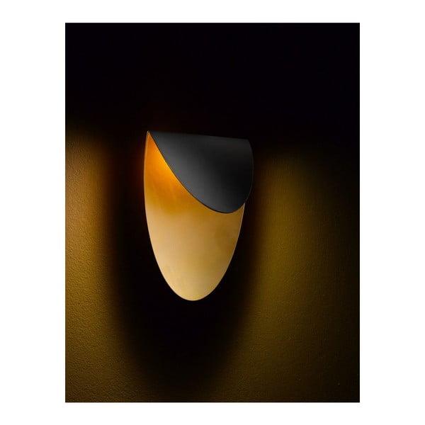 Nástenné svetlo Lips Black