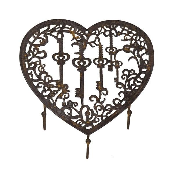 Držiak na kľúče Antic Line Heart