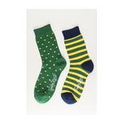 Dva páry ponožiek Funky Steps Merengue, univerzálna veľkosť