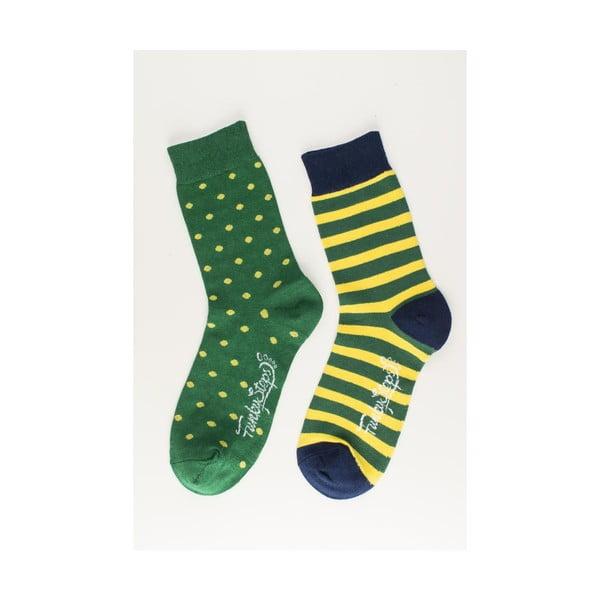 Sada 2 párov unisex ponožiek Funky Steps Merengue, veľkosť 39/45