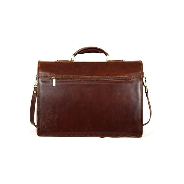 Kožená taška Santo Croce VL8242 Brown
