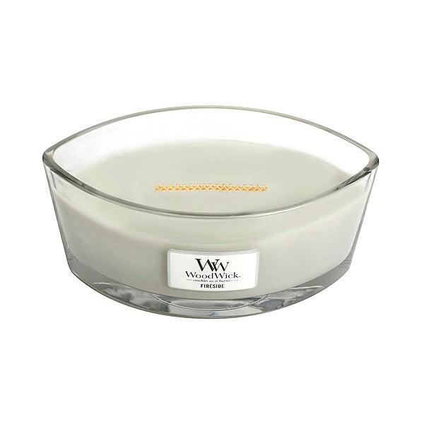Vonná sviečka WoodWick Sweet Home Oheň v kozube, 453 g, 50 hodín