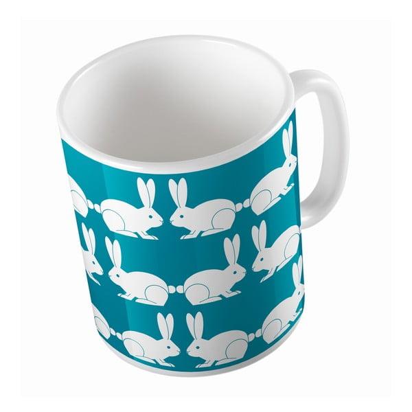 Keramický hrnček My Friend Bunny, 330 ml