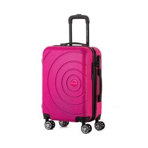 Ružový cestovný kufor Berenice Circle, 44 l