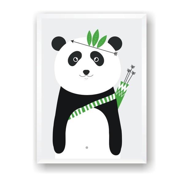 Plagát Nord & Co Panda, 40 x 50 cm