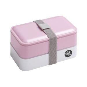 Ružový desiatový box Premier Housewares, 19 x 11 cm