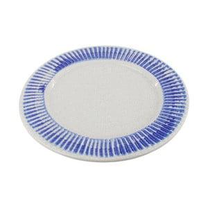 Keramický tanier InArt Stripes, 40,5 cm