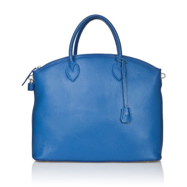 Kožená kabelka Costa Blue