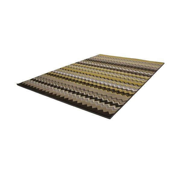Žlto-čierny koberec Kayoom Stella 700 Yellow, 160x230cm