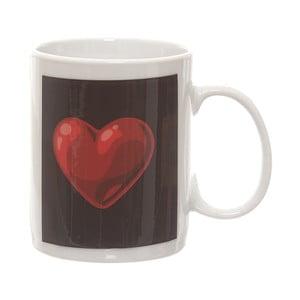 Keramický hrnček s termocitlivým obrázkom Kasanova Heart, 325 ml