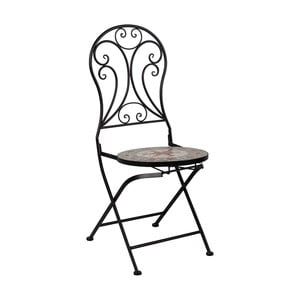 Skladacia kovová stolička Crido Consulting Vintage