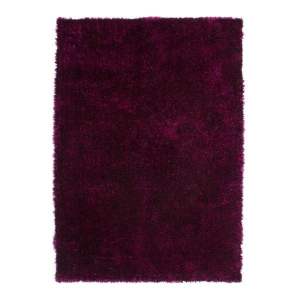 Tmavovínový koberec Kayoom Celestial 328 Purple/Black, 120 x 170 cm