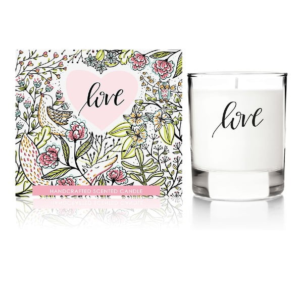 Vonná sviečka Love