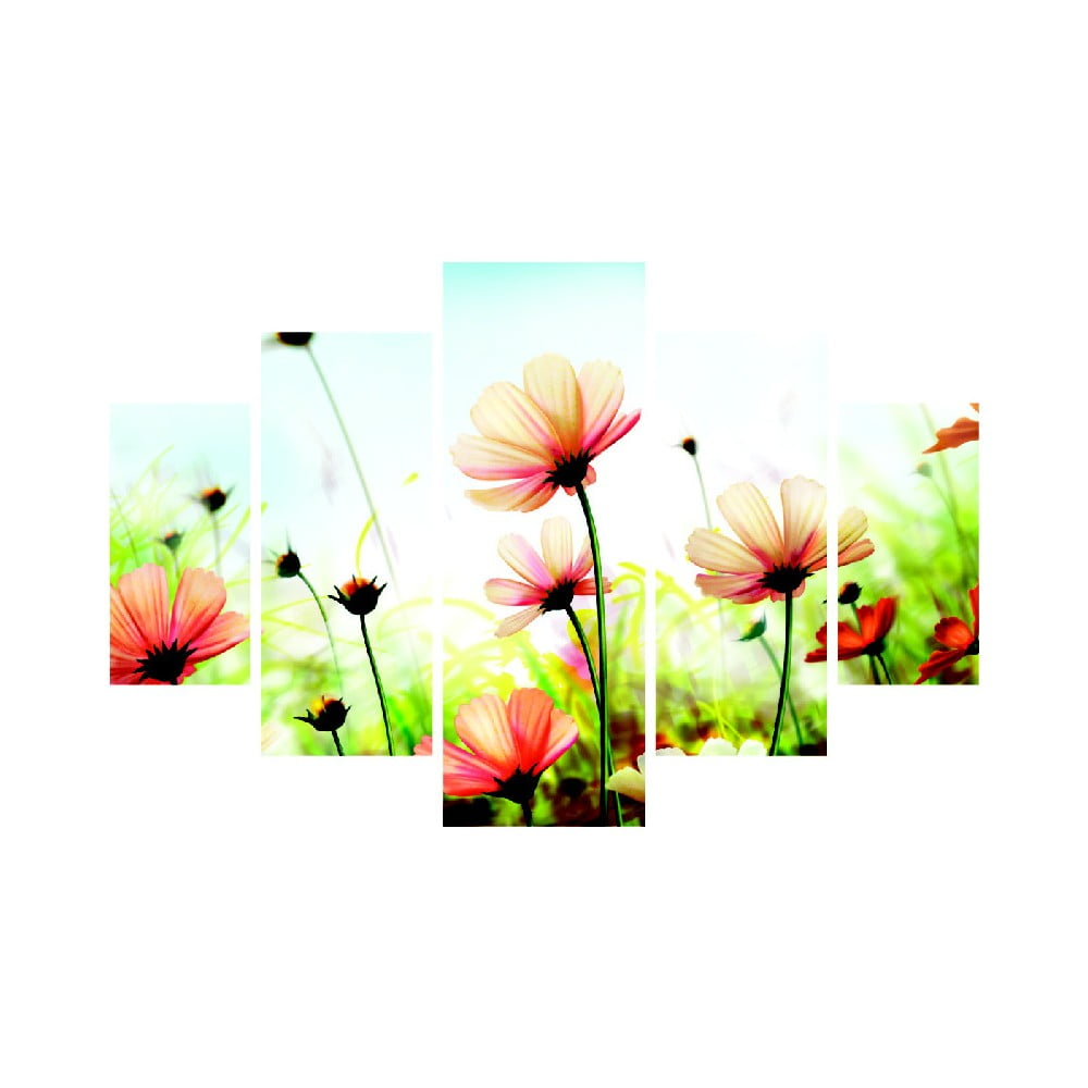 Viacdielny obraz Meadow, 92 × 56 cm
