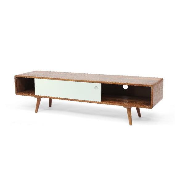 TV stolík Bianco, 140x38x35 cm