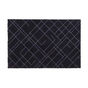 Čierno-sivá rohožka Tica Copenhagen Lines, 60 x 90 cm