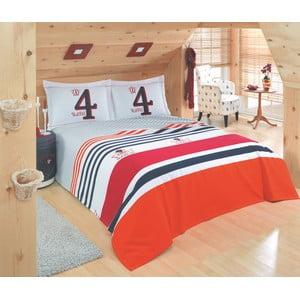 Sada prikrývky cez posteľ a prestieradla U.S. Polo Assn. Broomsville, 200x220 cm