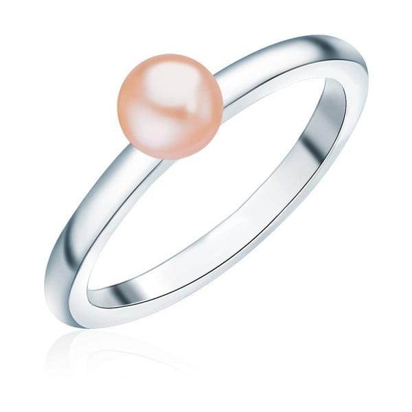 Prsteň s perlou Nova Pearls Copenhagen Io, veľ. 52