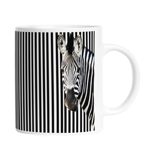 Hrnček Black Shake Many Stripes, 330ml