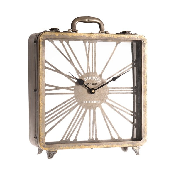 Hodiny Clock in Gold