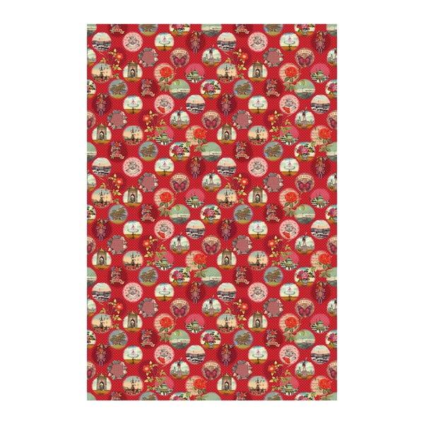 Tapeta Pip Studio Remember Brighton, 186x280 cm, červená