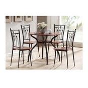 Jedálenský set stolu a 4 stoličiek Ambroza